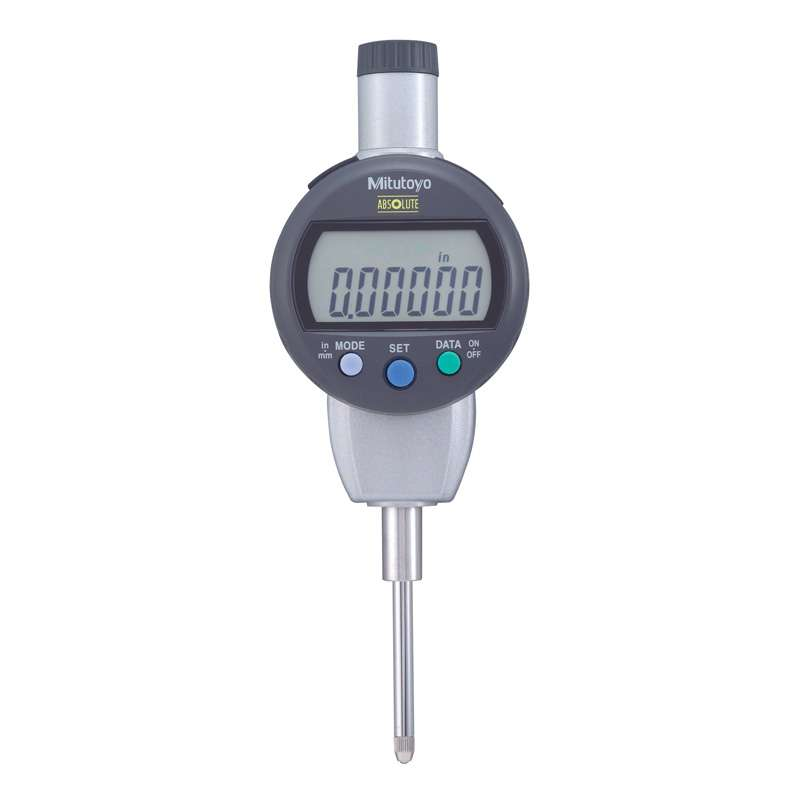 "Series 543 ID-C Digimatic Indicator with ABSOLUTE Encode Technology and Flat Back, 0-1""/25.4mm Range"