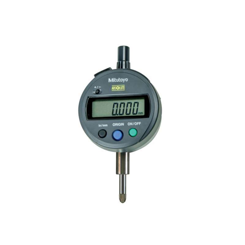 "Series 543 ID-SX Digimatic Indicator with ABSOLUTE Encode Technology and Lug Back, 0-.5""/12.7mm Range"