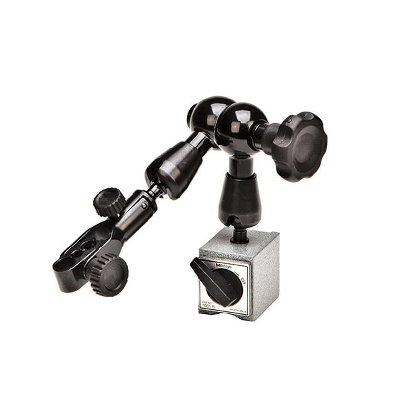 Magnetic Base with Articulating Arm, Dovetail Clamp and Mechanical Locking System, 159mm/300N