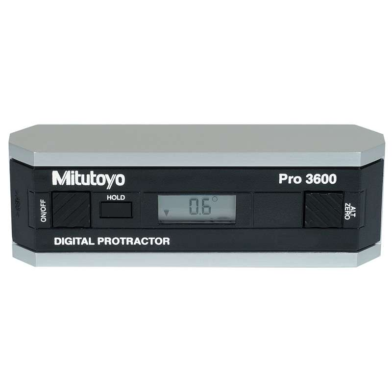 Series 950 Pro 3600 Digital Protractor with Full 360 Degree Range and RS-232C Output