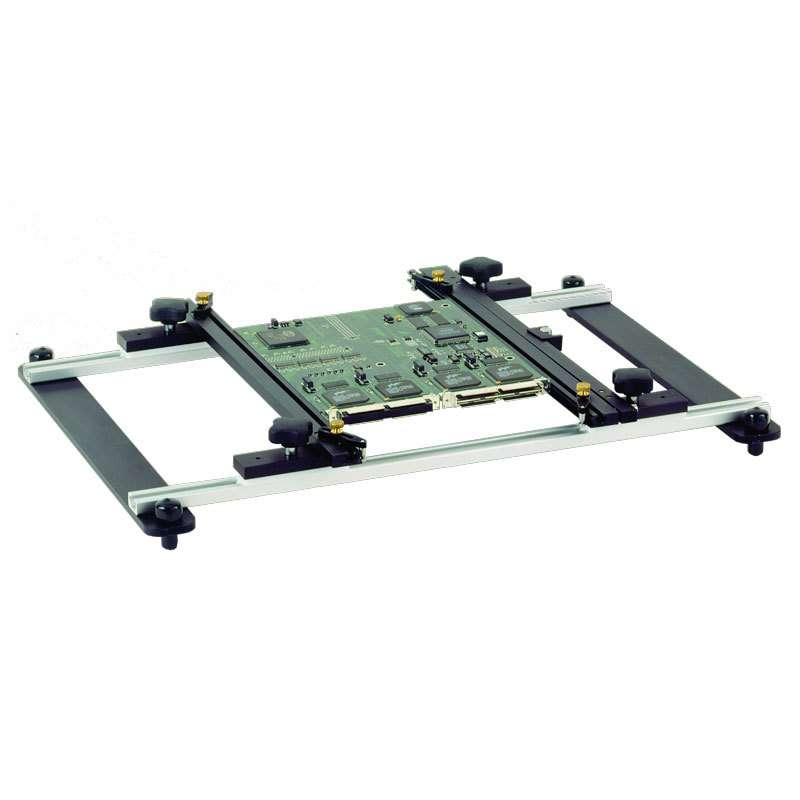 """ST 525 PCB Holder with Spring Loaded Rails and Cocking Mechaninsm, 12"""" Long"""
