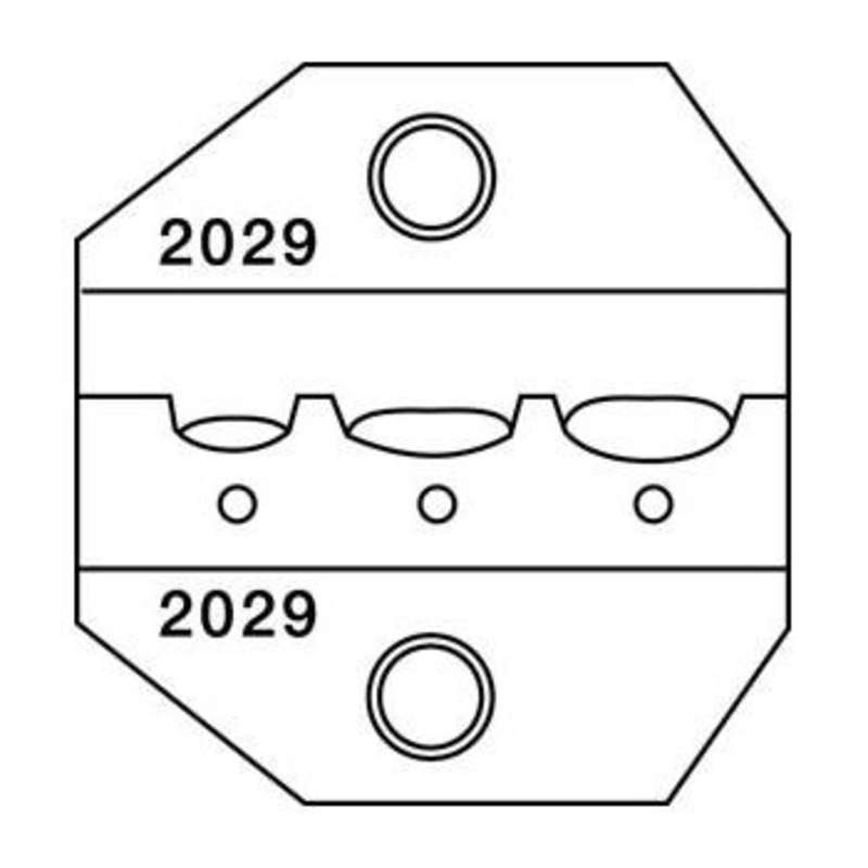 1300 and 8000 Series Die Set, 26-14 AWG, for Insulated Terminals and Lugs