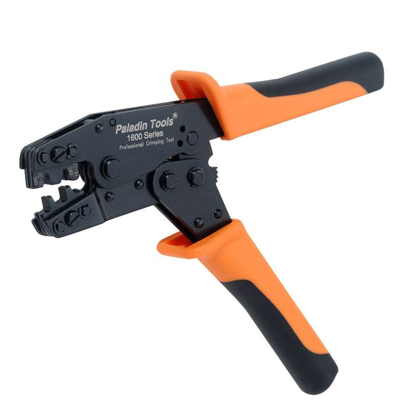 CLEARANCE Crimper 1600 Series 30-18 AWG 30-24/22-18 F-Type Crimp Paladin