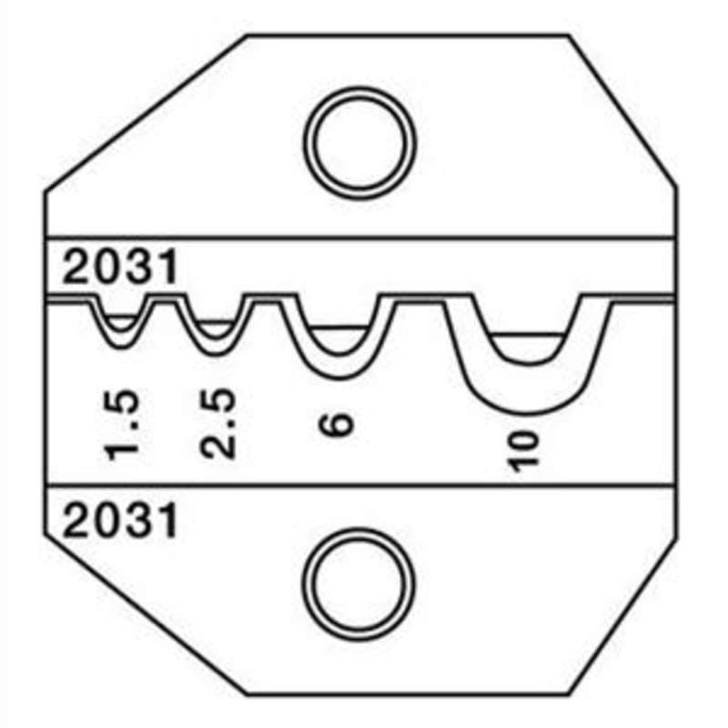 1300 and 8000 Series Die Set for Non-Insulated Terminals and Lugs