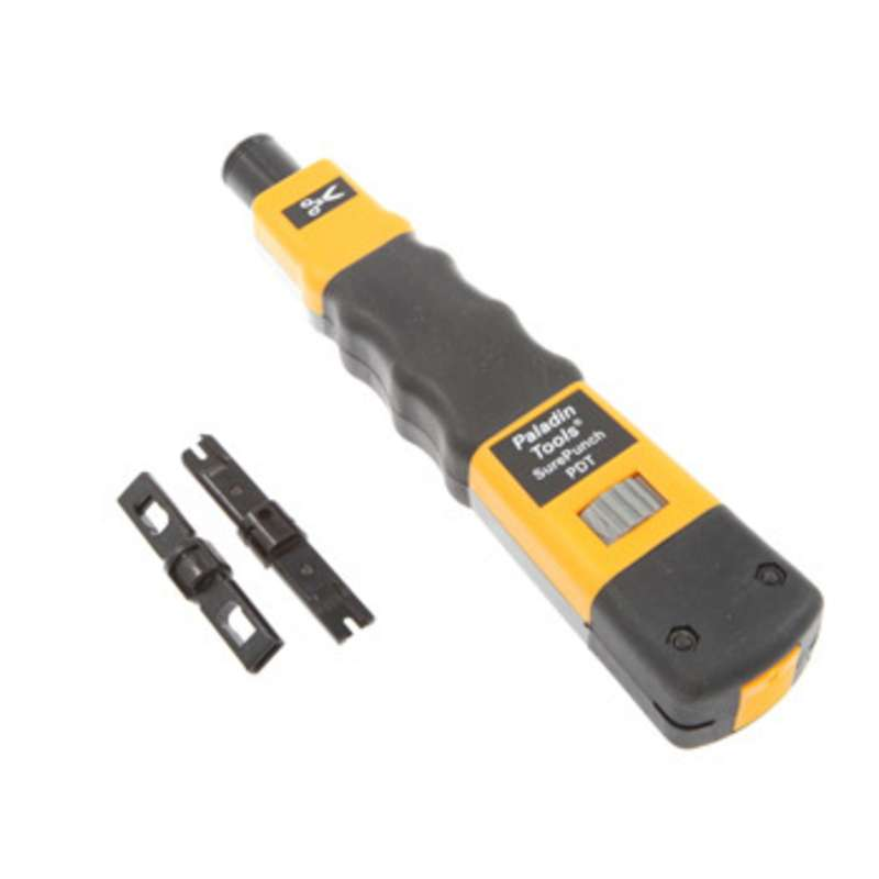 SurePunch® Punch Down Tool with 66 and 110 Type Terminate Punchdown Blades