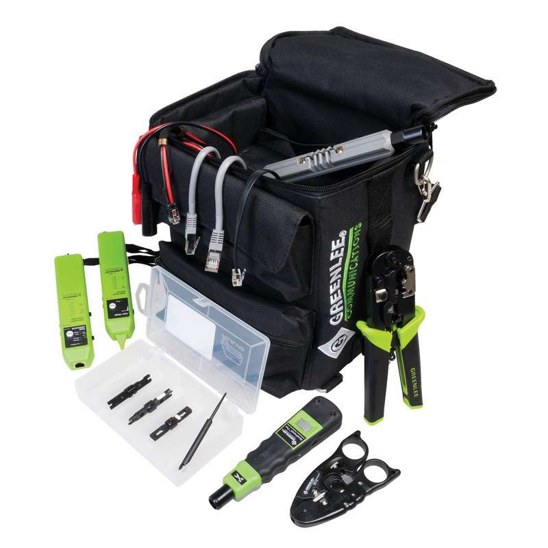 Ultimate Data / Voice Pro Tool Kit with Tool Bag, 12 Pieces
