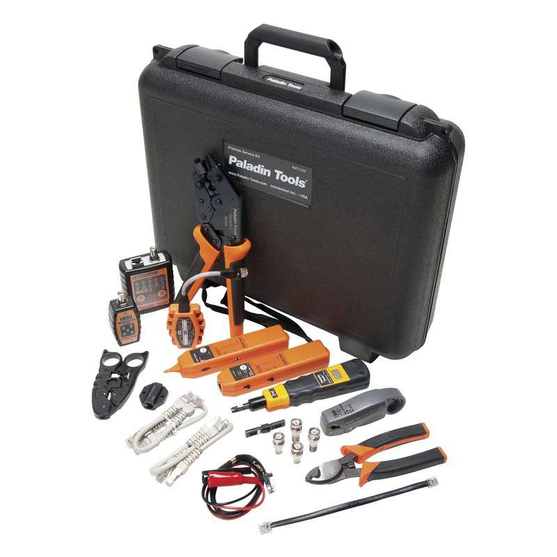Premise Service Kit for Data, Voice and Coaxial LAN Installation