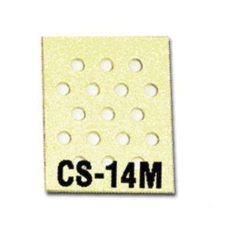 "Solder Tip Cleaning Sponge with Multiple Holes, 2-3/4 x 2-1/8 x 1"", 10 per Pack"