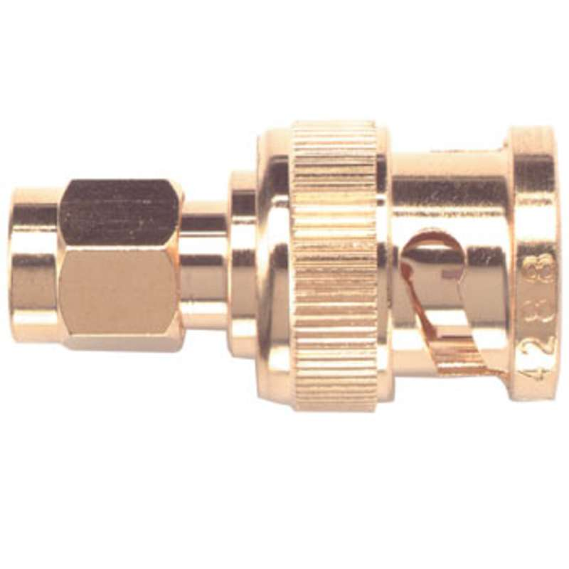 SMA (Male) to BNC (Male) Between Series Adapter