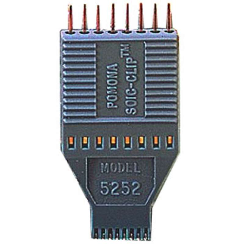 Pomona SOIC/SOJ Test Clip, 16 Pin for Chips with either Gull