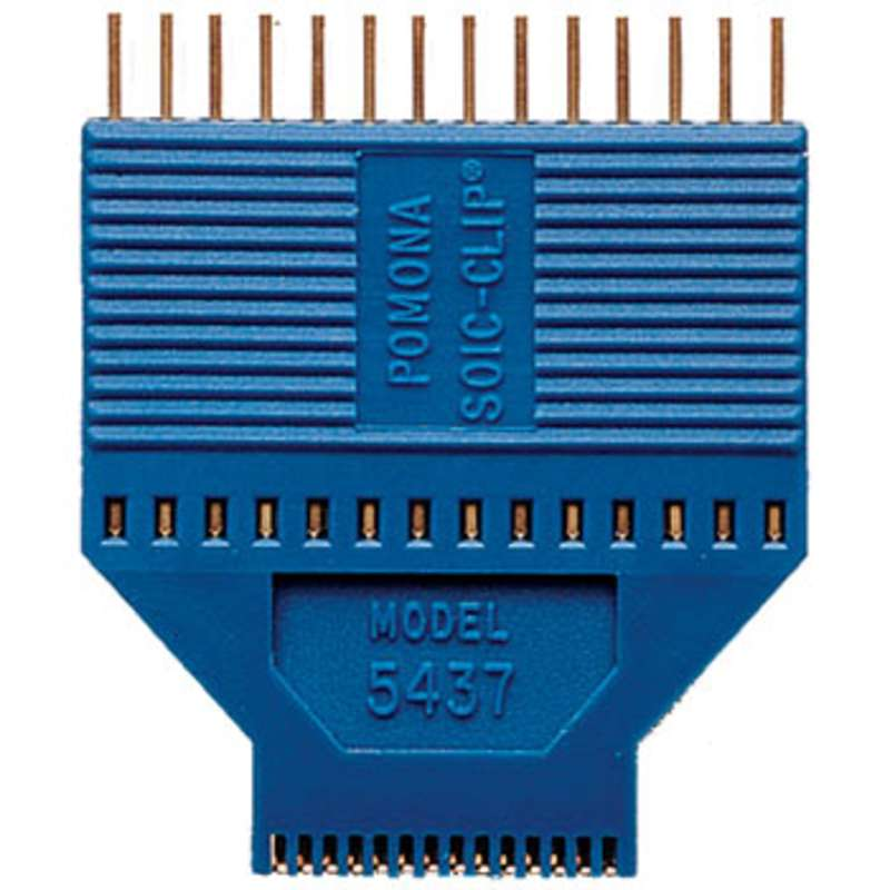 "SOIC/SOJ Test Clip, 28 Pin for Chips with either Gull Wing or ""J"" Leads"