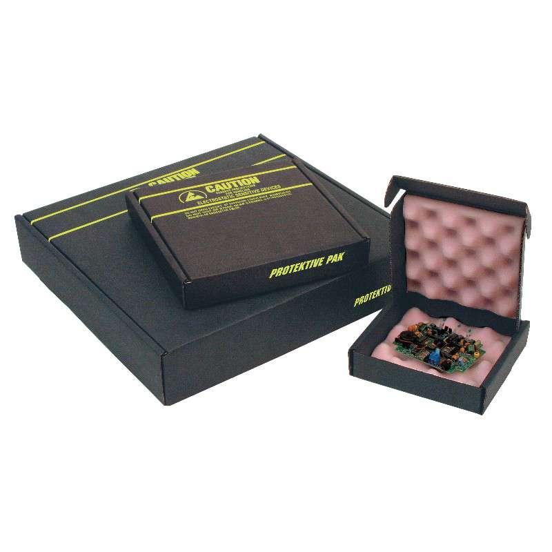 "Fiberboard Circuit Board Shipper Box with Foam 12-1/2 x 10-1/2 x 2-1/2 """