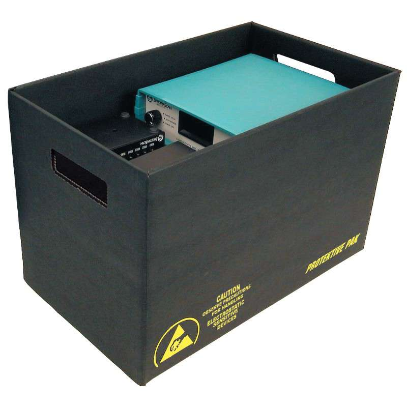 ESD-Safe Corrugated Storage Container