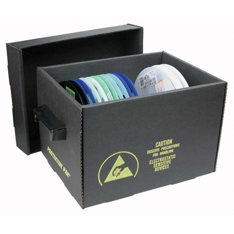 "Impregnated Corrugated Storage Container for 7"" Reels"