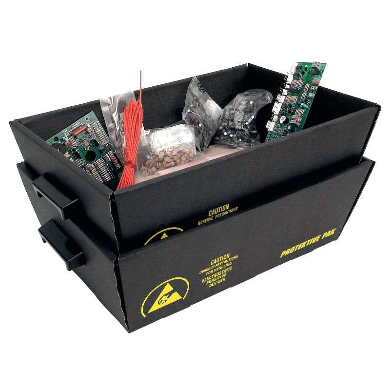 ESD-Safe Transportation and Storage Nesting Tote