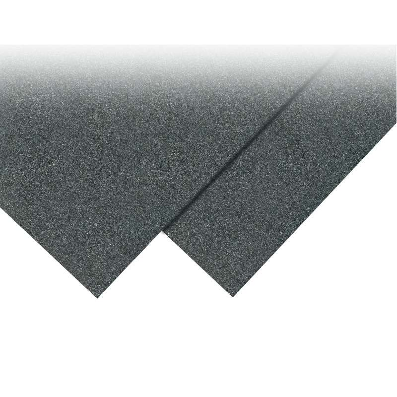 Cushion Grade Conductive Black Foam Sheet, 1/2x37x57