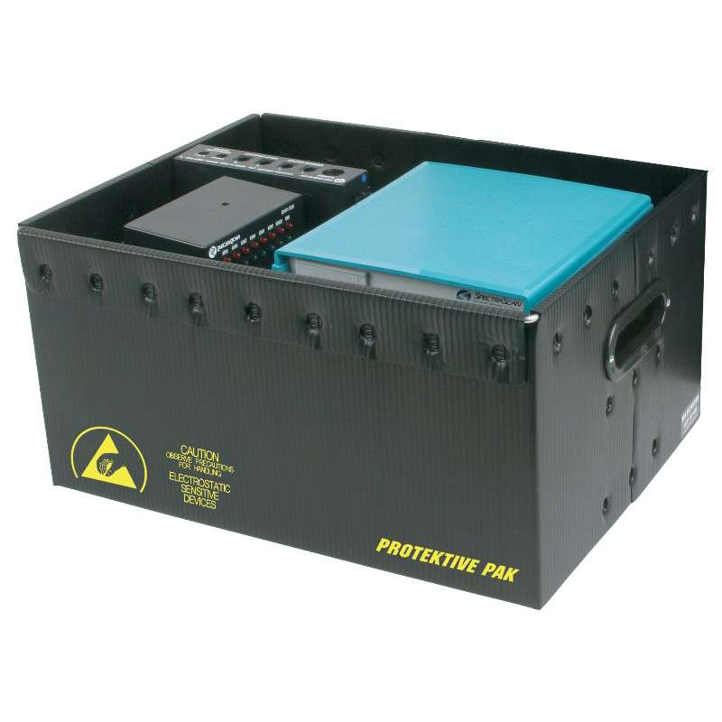 Permanently Conductive Plastek Storage Container