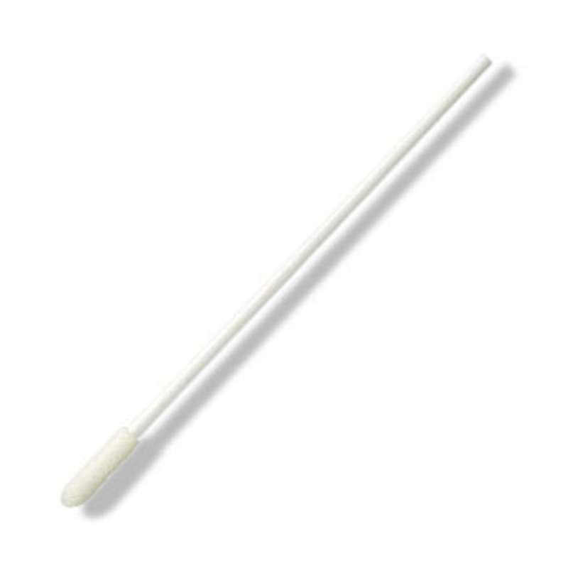 """Non-Sterile Foam Utility Swab with 5/32 x 5/8"""" Tip and Polypropylene Handle, 4"""" Long, 50 per Bag"""