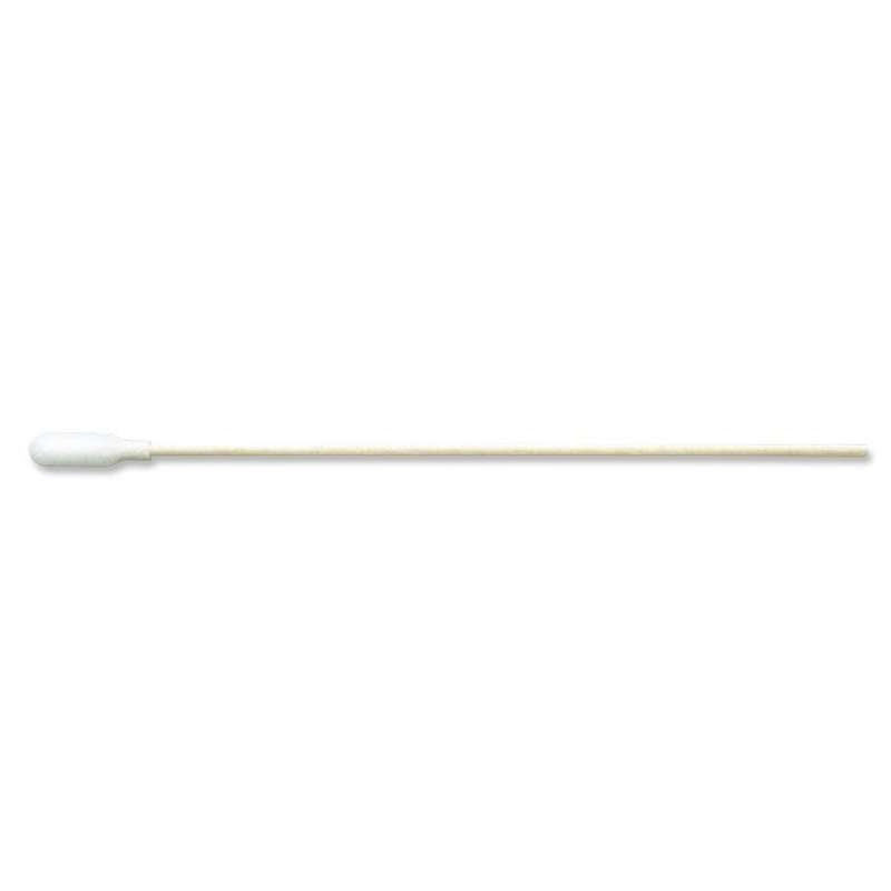 """Foam Swab with .812""""x.25"""" Small Tip and Wood Handle, 6"""" Long, 50 per Bag"""