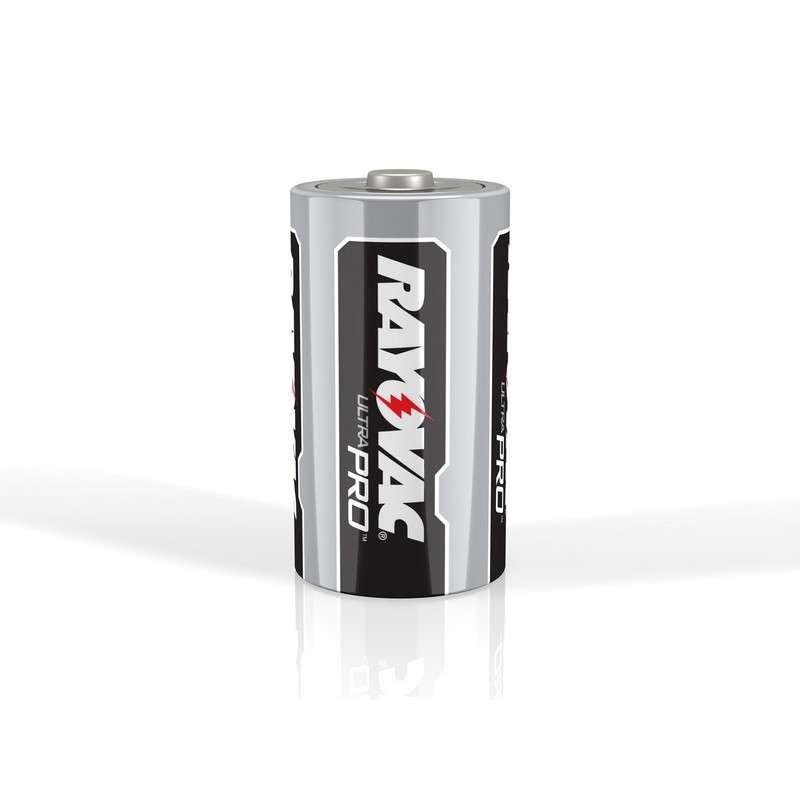 Rayovac UltraPro D Alkaline Batteries, 6 per Pack