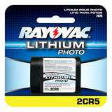 3V LITHIUM BATTERY RAYOVAC PHOTO, 6/CS
