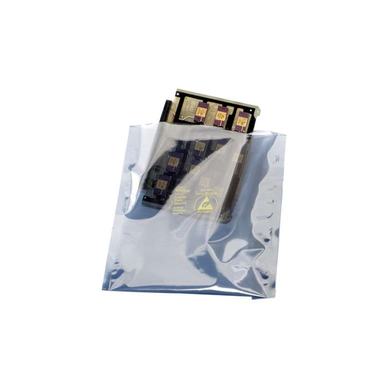 "1000 Series 2.8mil Open Top Metal-In Static Shielding Bag, 16 x 20"", 100 per Package"