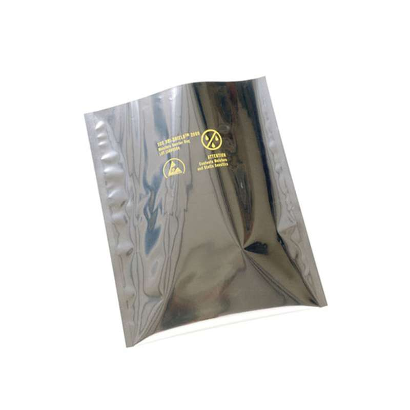 "Dri-Sheild 2000 ESD-Safe 3.6mil Moisture Barrier Bag for ESD/RFI/EMI Protection, 5 x 30"", 100 per Package"