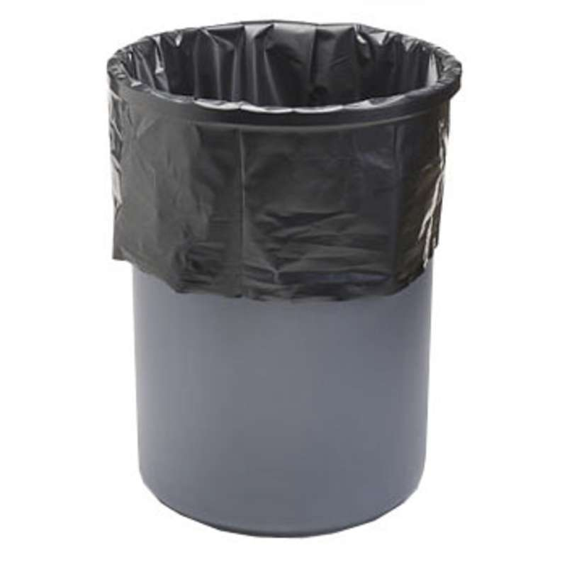 "Velostat® Conductive 4mil Black Polyethylene 55 Gallon Drum Liner, 38 x 58"", 50 per Pack"
