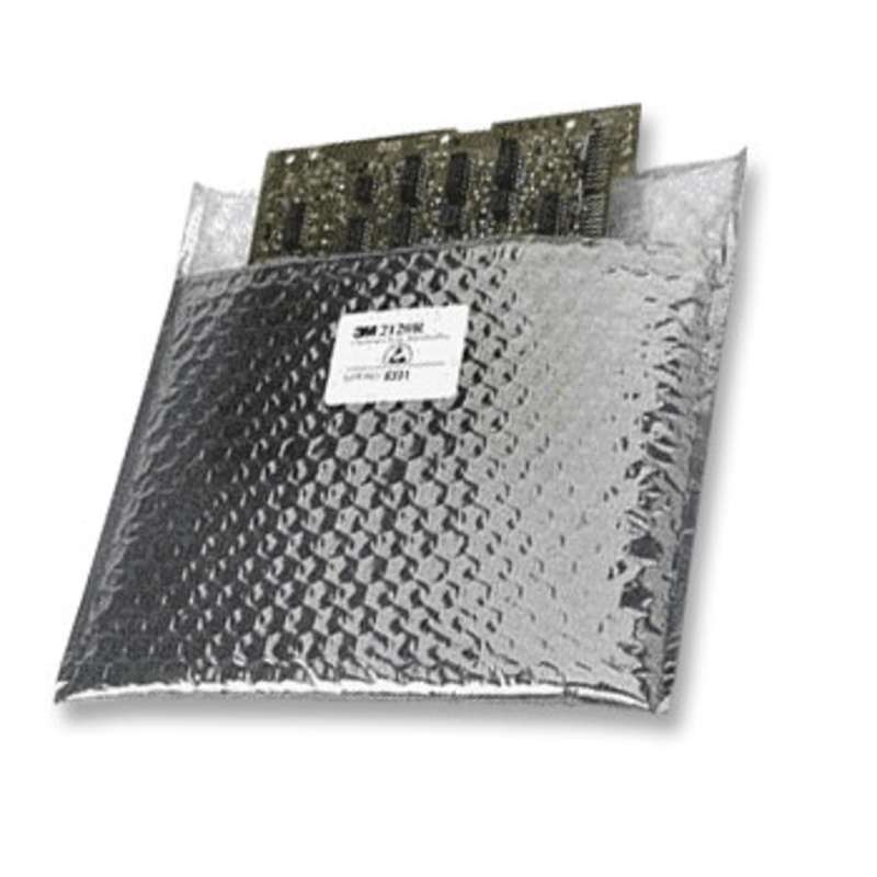 "Open Top Metal-Out Cushioned Static Shielding Bag, 14 x 15"", 100 per Package"