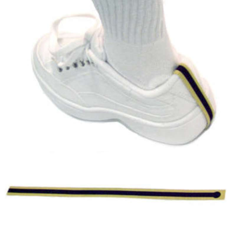 Disposable Heel Grounder, Yellow/Black