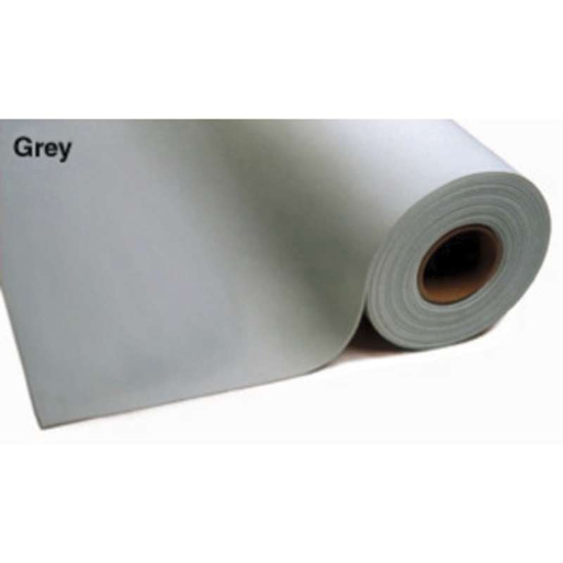 "3-Layer Dissipative Vinyl Matting Roll, 30"" x 50' x .125"" Thick, Grey"