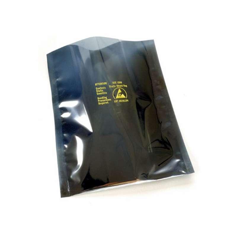 """1500 Series Metal- Out Static Shield Bag, 6 x 8"""", SCSil, 100/PK"""