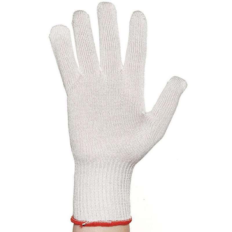 D-Flex® Level 4 Cut Resistant White Light Weight Knit Glove, 1 Glove, Small