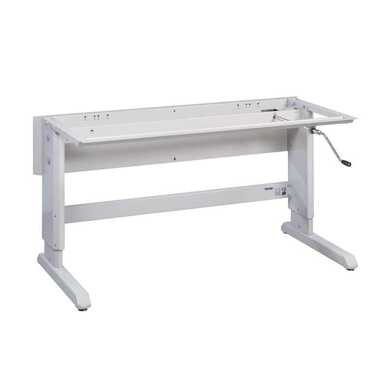 "30"" x 72"" Concept Handcrank Frame, adj 26.82""-40.60"", 500 lbs. capacity"