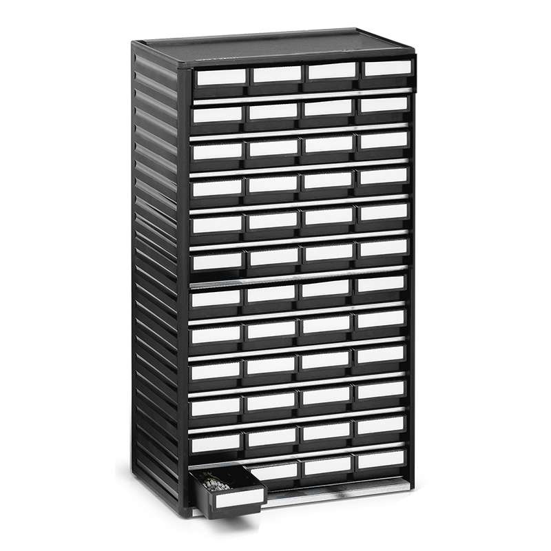 "ESD-Safe Treston® Small Parts Storage Cabinet, 48 Drawers, 7.08""D x 12.2""W x 21.65""H"