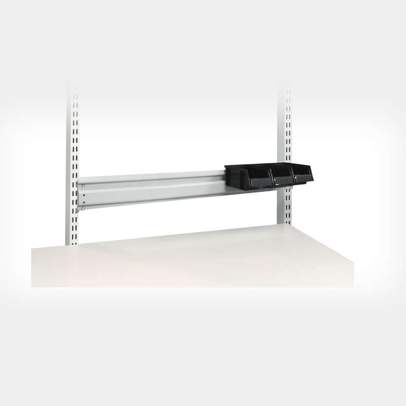 M20, Bin Rail, Dual Purpose for use with Bins with either Wide Slot or Narrow Slot Rear Lips