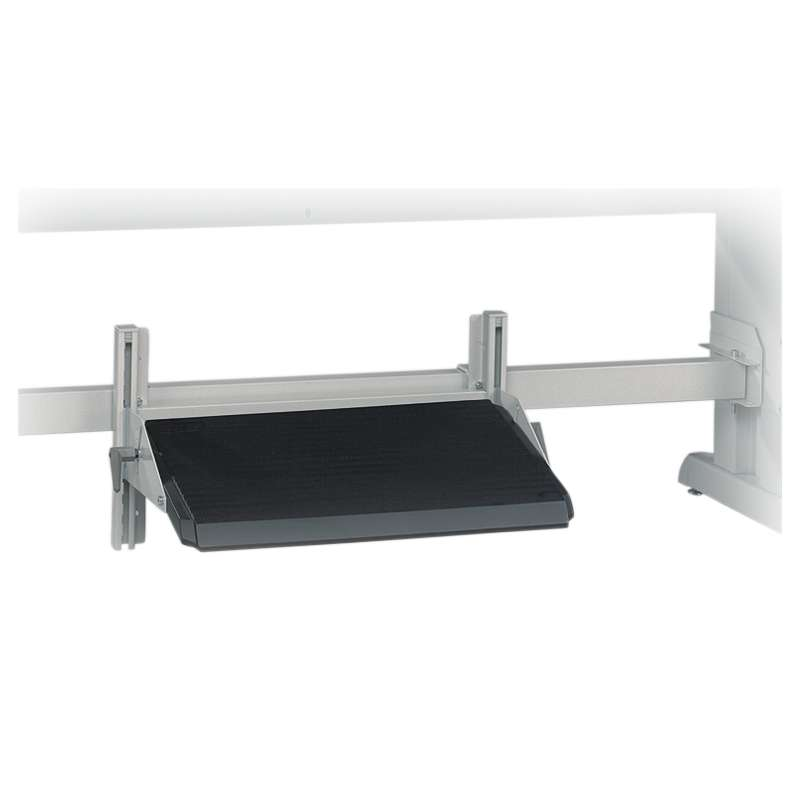 Foot Rest, attaches to Support Bar, bar not included with Concept Manual Adjust, or TowerLine, 5 to 30 degree tilt
