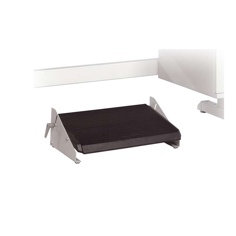 Foot rest, free standing, fixed height