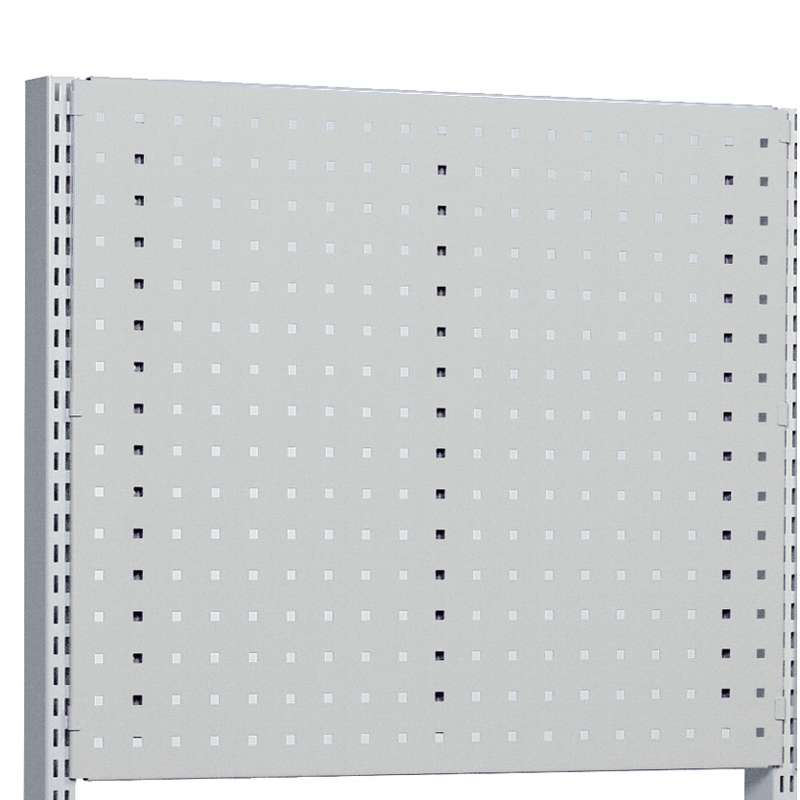 "M60x15.31"", perforated panel, Grey"