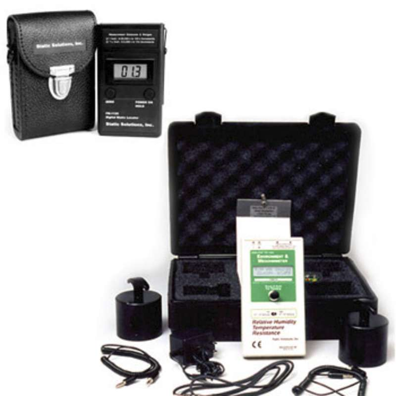 Complete 20/20 Audit Kit (Fahrenheit) with RT-1000 Ohm-Stat® Surface Resistivity Megohmmeter and FM-1126 Digital ESD Field Meter