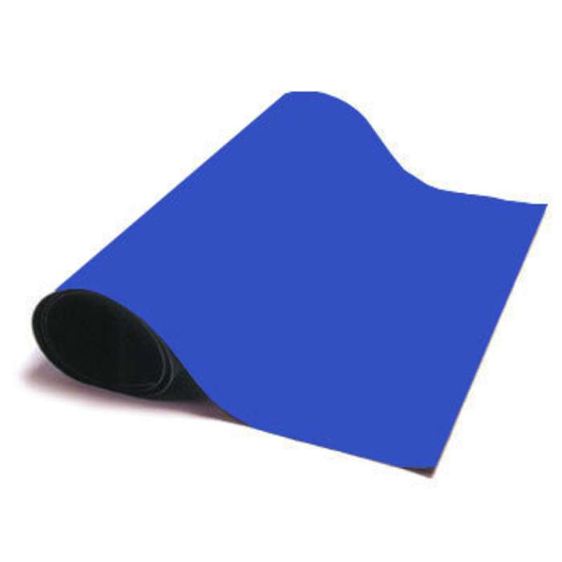 """Ultimat 2-Layer Rubber Dissipative ESD Matting Roll without a Ground Cord or Snaps, Blue/Black, 0.080"""" x 30"""" x 40'"""