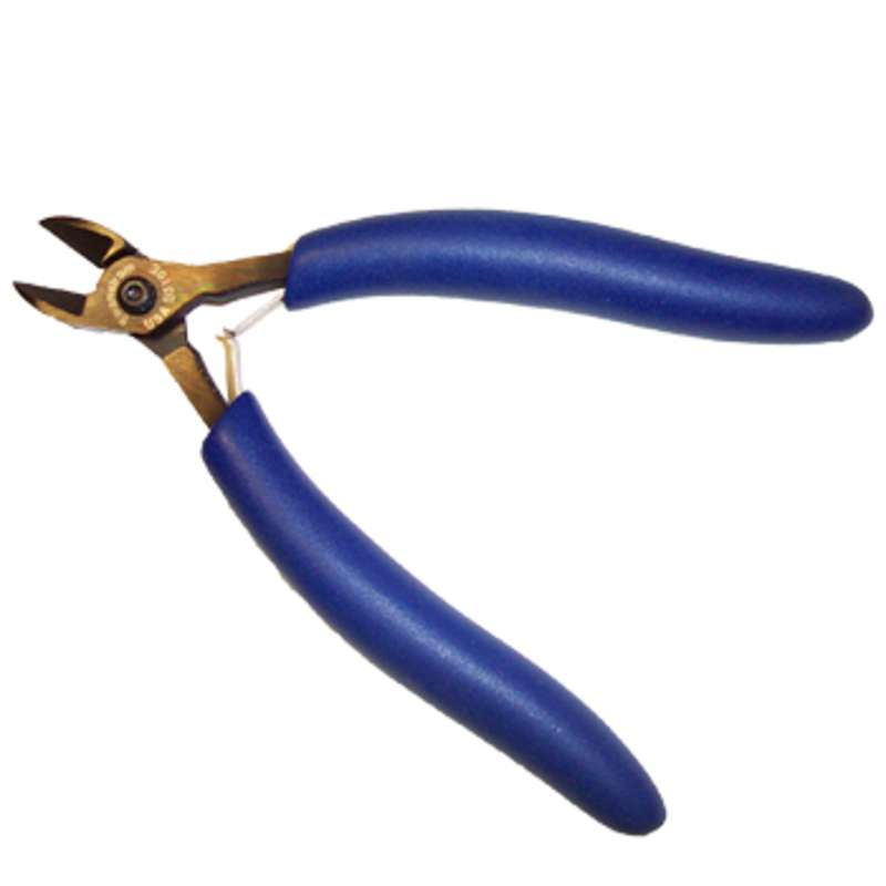 """ESD-Safe Oval Head Bevel Cutters with Cushion Grip Handles, 5-13/16"""" Long"""