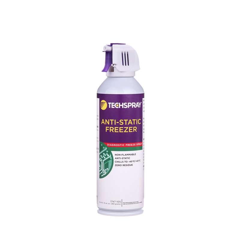 Techspray 1747 10s Anti Static Freeze Spray 10oz Aerosol