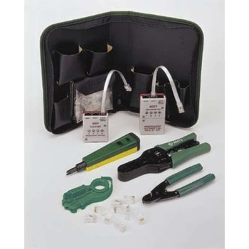 Termination and Test Kit CAT 5 with Carrying Case