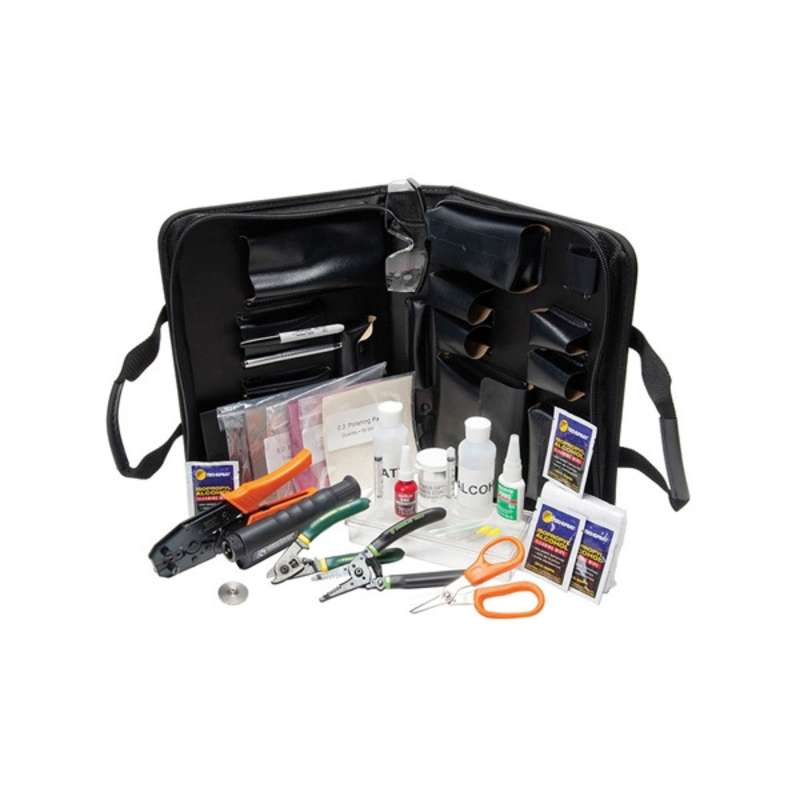 Fiber Optic Termination Kit with Carrying Case