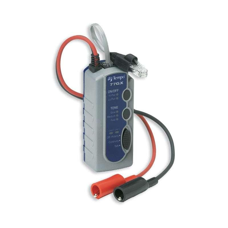 Professional GX Series Tone Generator with Modular Plug and Alligator Clips