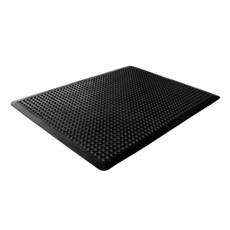 "ESD Anti-Fatigue Conductive Dome Mat 2 x 3', Black, 1/2"" Thick"