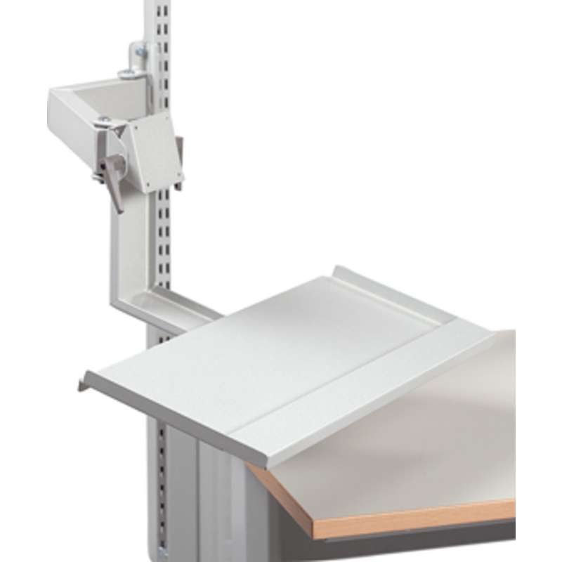 LCD (flat screen) monitor arm, double articulating arm