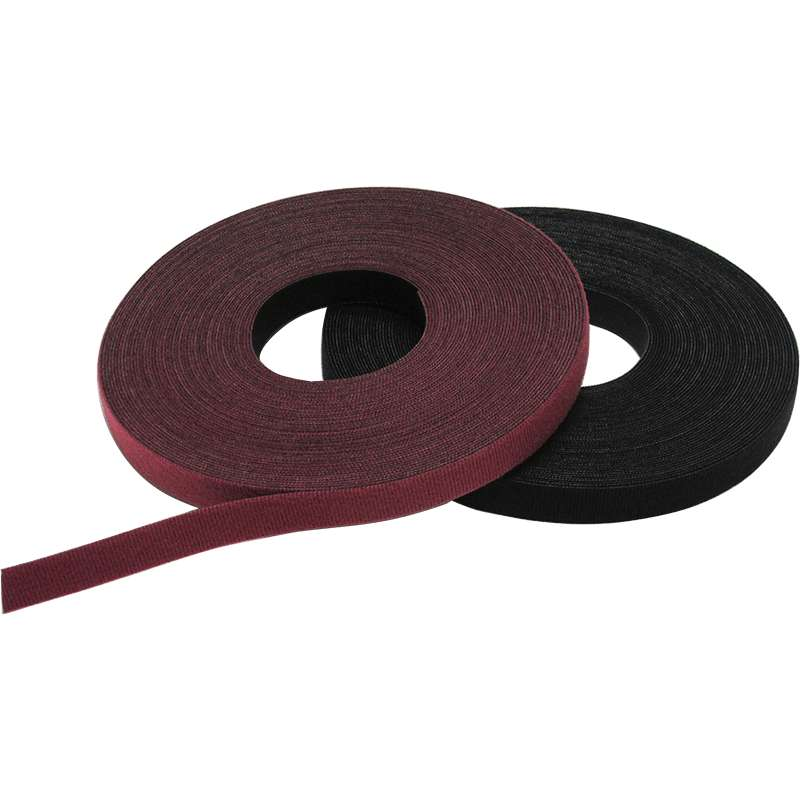 "VELCRO® One-Wrap 1/2"" Red, 25 Yd"