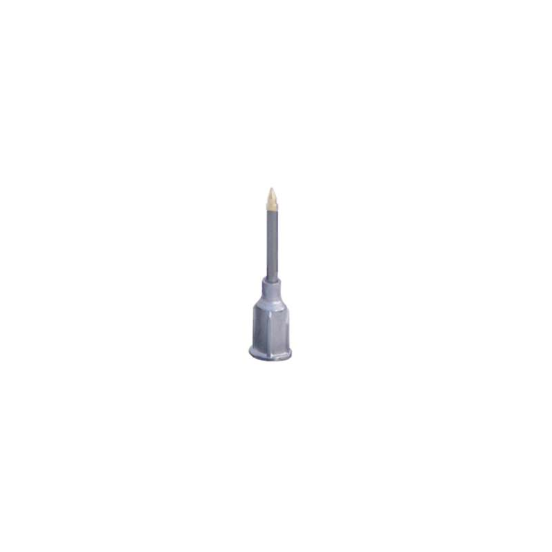 """ESD-Safe Straight Vacuum Probe, .020"""" Metal Probe with Small Part Tip, Beige"""